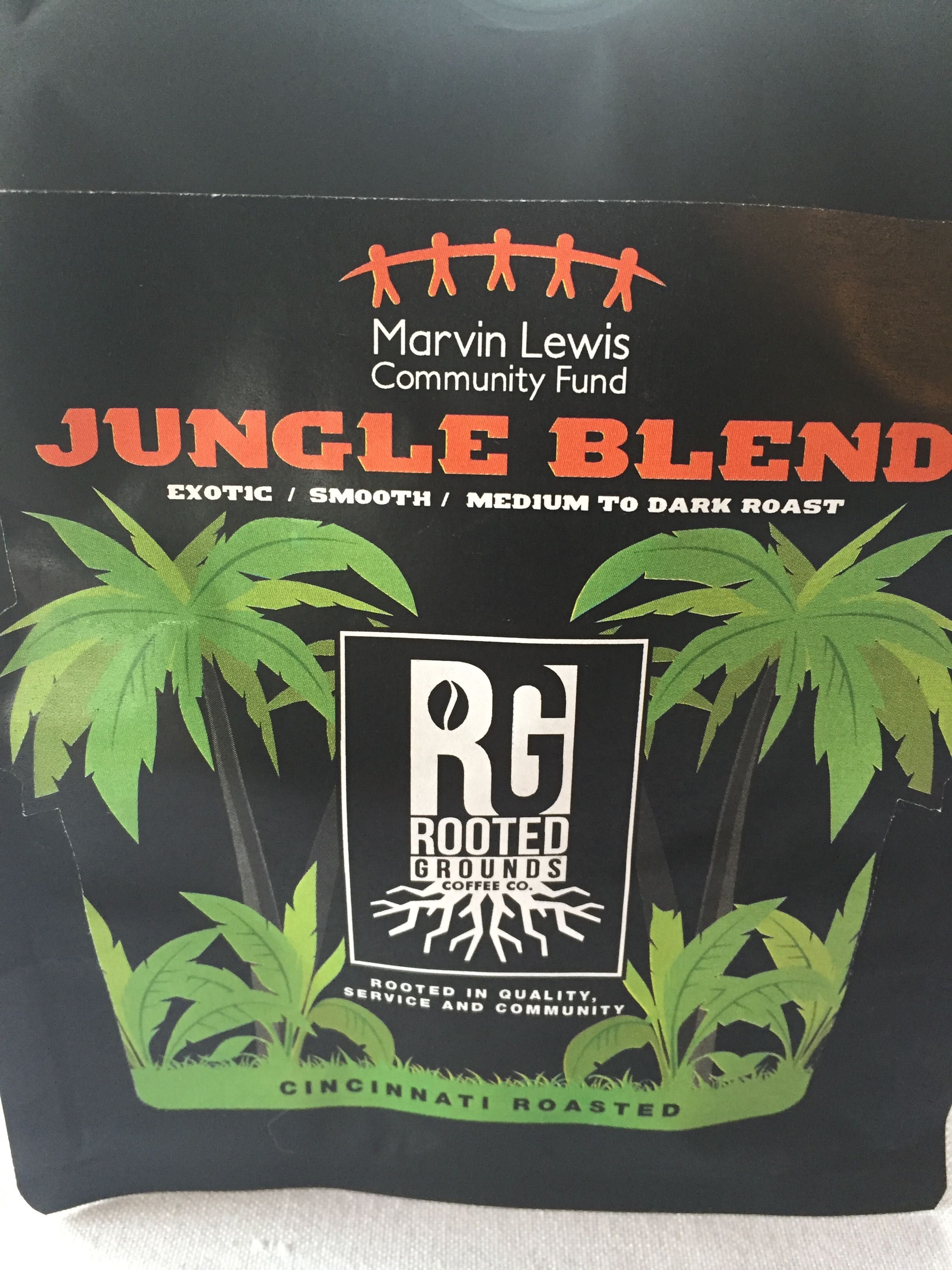 Jungle Blend Coffee - 12 oz. preground