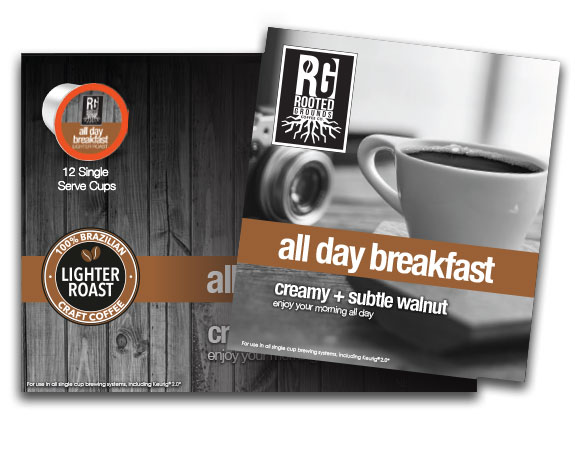 K-Cup - All Day Breakfast (6 boxes x 12 cups)