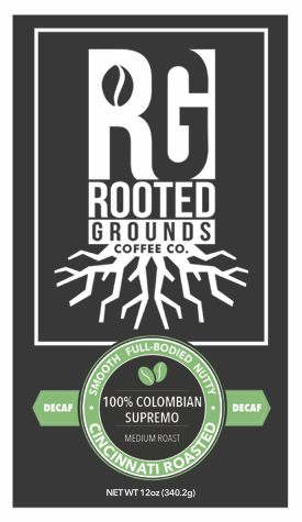 100% Colombian Decaf - 12 oz.  (Whole Bean)